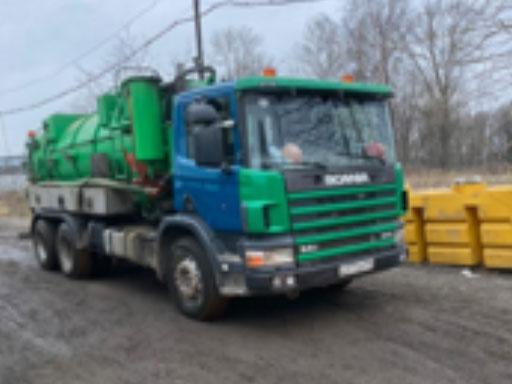 Илососная машина Scania Р94СВ6Х4НZ260