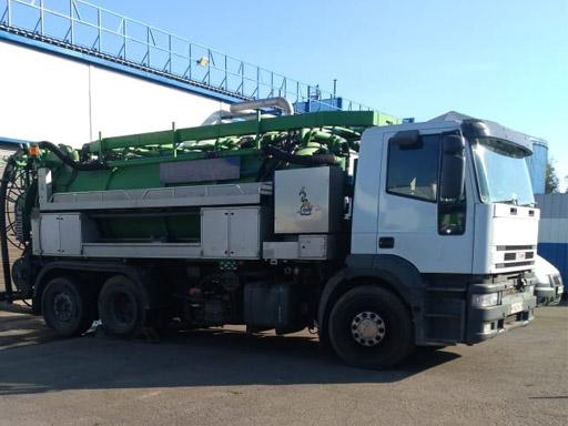 Каналопромывочная машина IVECO TREKKER AD380T38